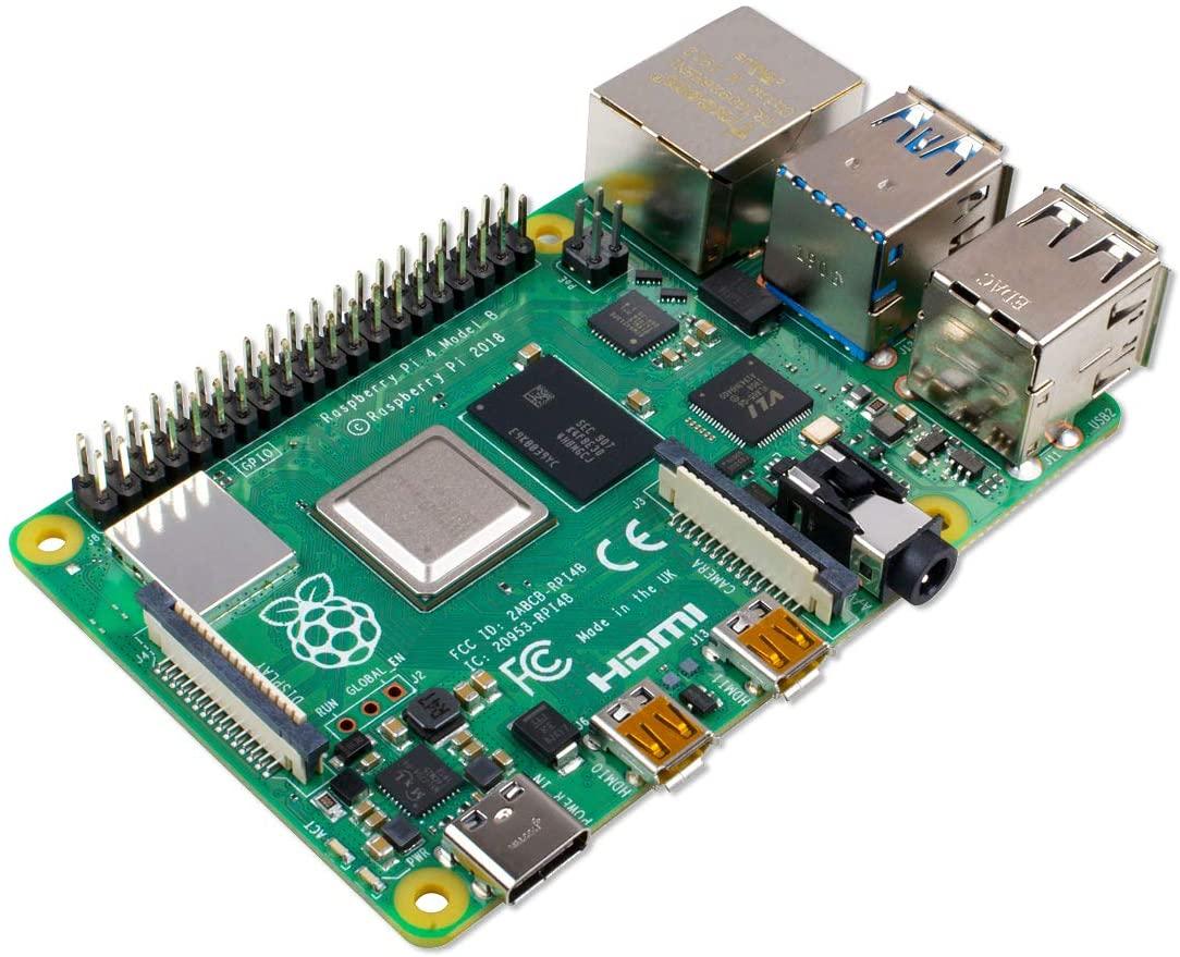 La foto di un Raspberry Pi