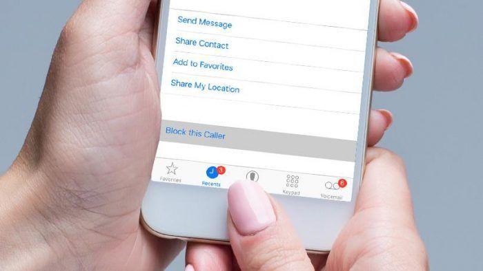 Bloccare qualsiasi telefonata anonima su iPhone