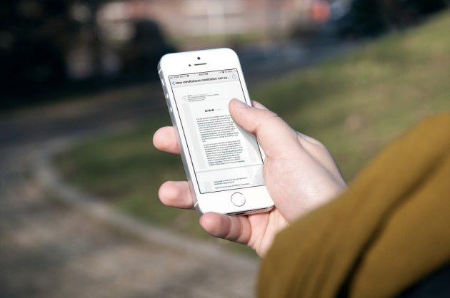 Come salvare email in PDF su iPhone