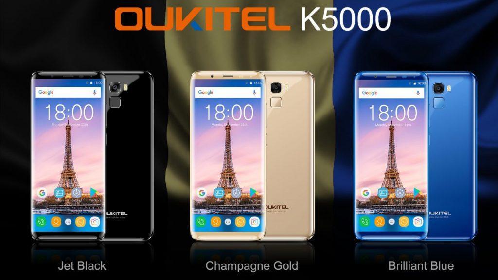 OUKITEL-K5000 colori