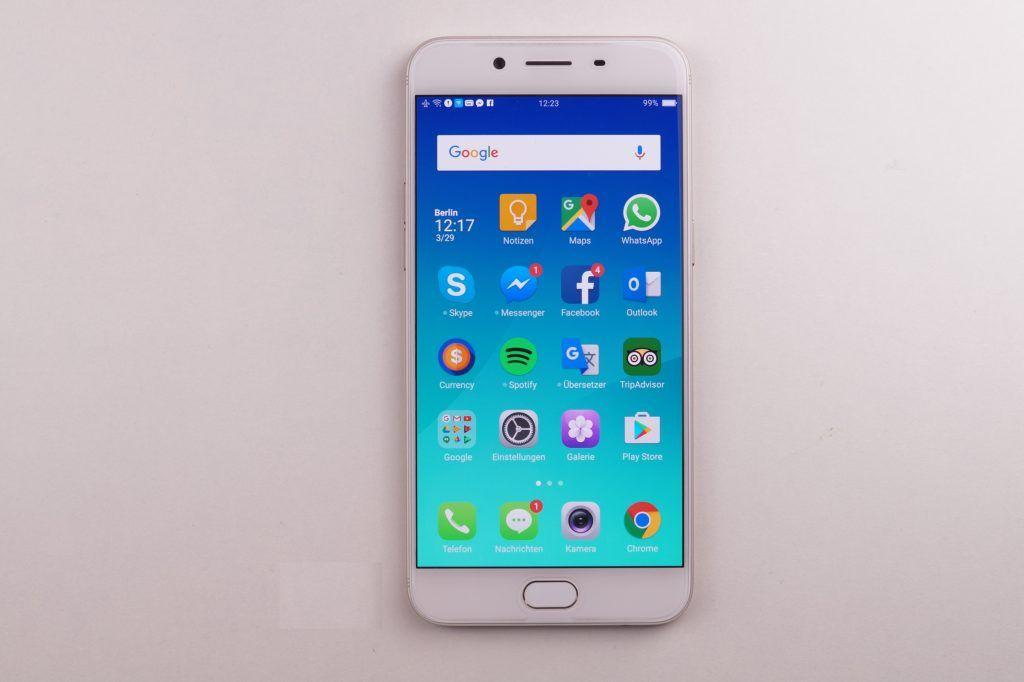 Oppo R9S - display