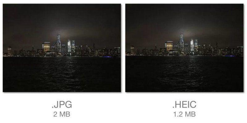Il nuovo formato immagini di iOS 11, HEIC, permette il risparmio di diversi MB, ma la continua conversione verso il JPEG causa problemi