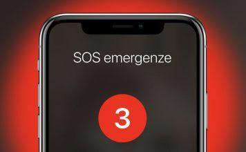 iOS 11 SOS Emergenze