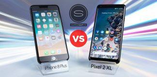 iphone 8 plus vs google pixel 2 xl