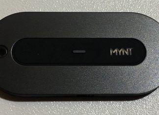 mynt smart tracker - fronte