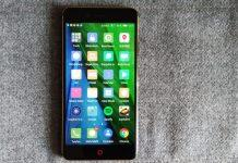 recensione nubia z17 mini display