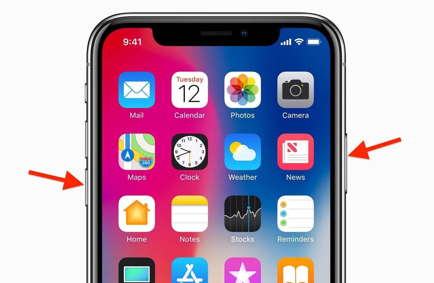 Come eseguire hard reset sul nuovo iPhone X