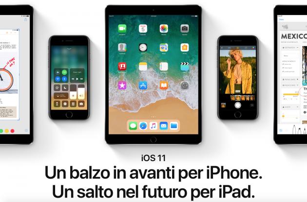 Come passare da iOS 11 beta ad iOS 10