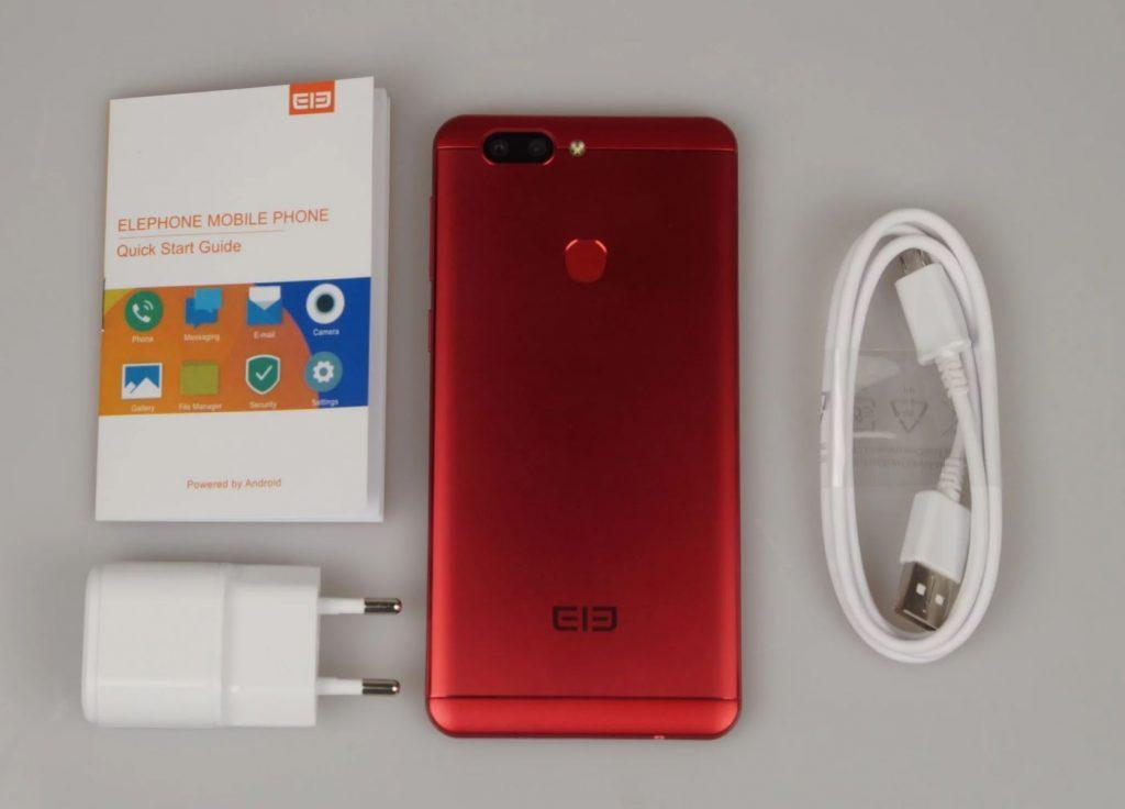 Elephone P8 Mini contenuto confezione