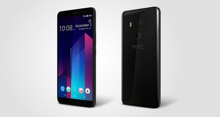 HTC U11 Plus home