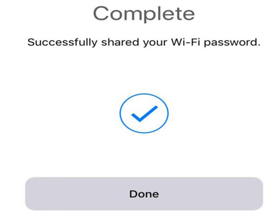 Password wi-fi condividerla iOS 11