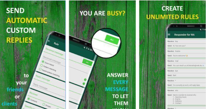 WhatsApp Android, come inviare risposte automatiche