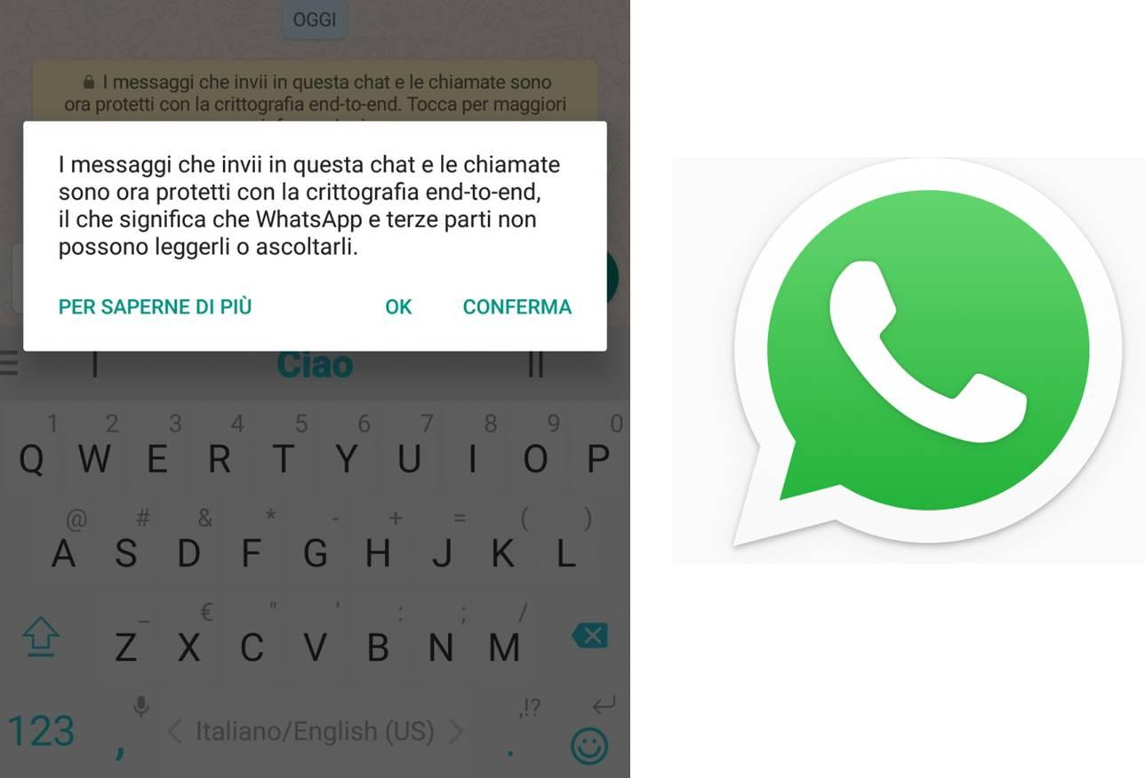 WhatsApp hacker crittografia end-to-end
