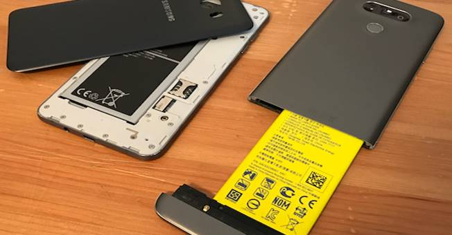batteria removibile smartphone