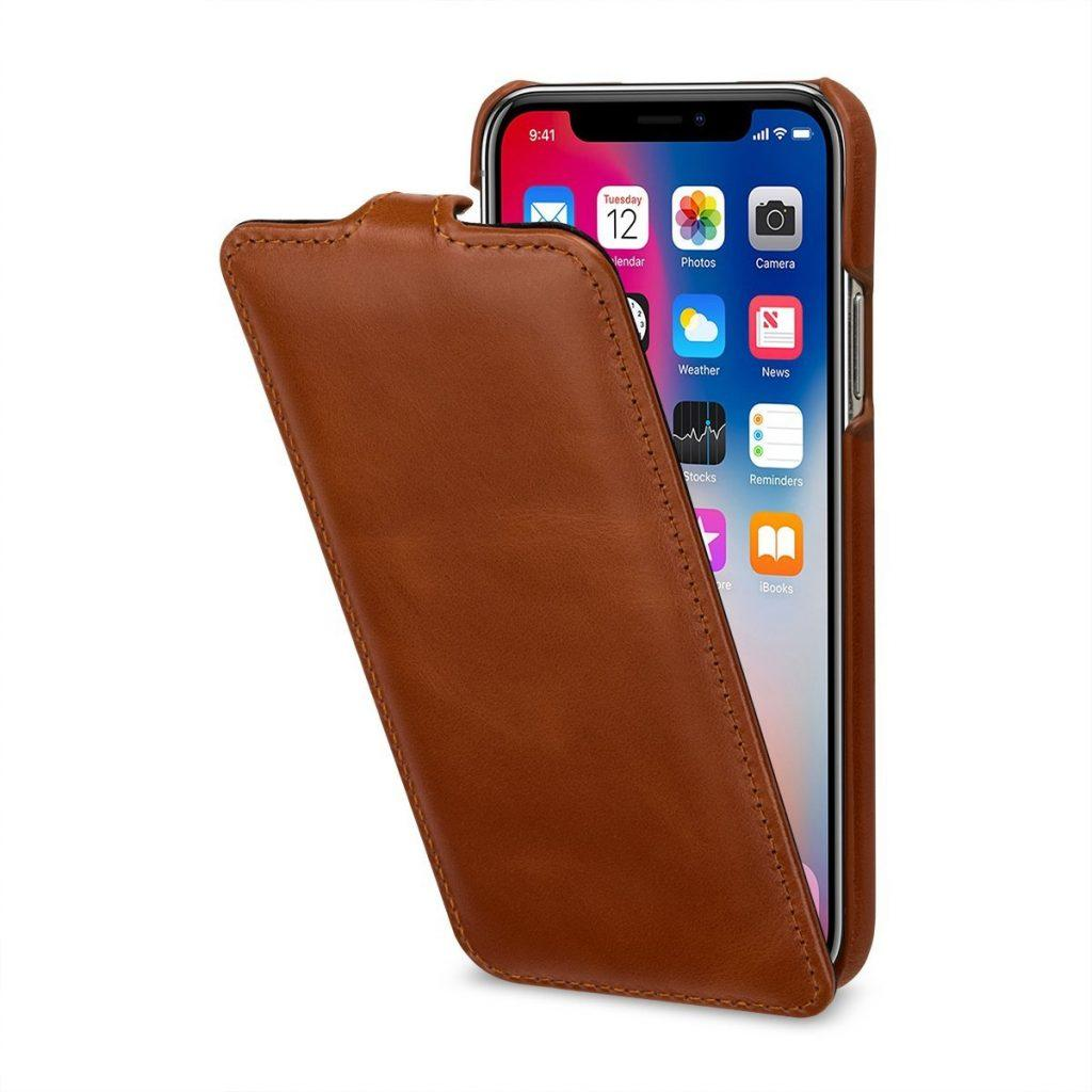 iphone x Custodia flip StilGut Talis