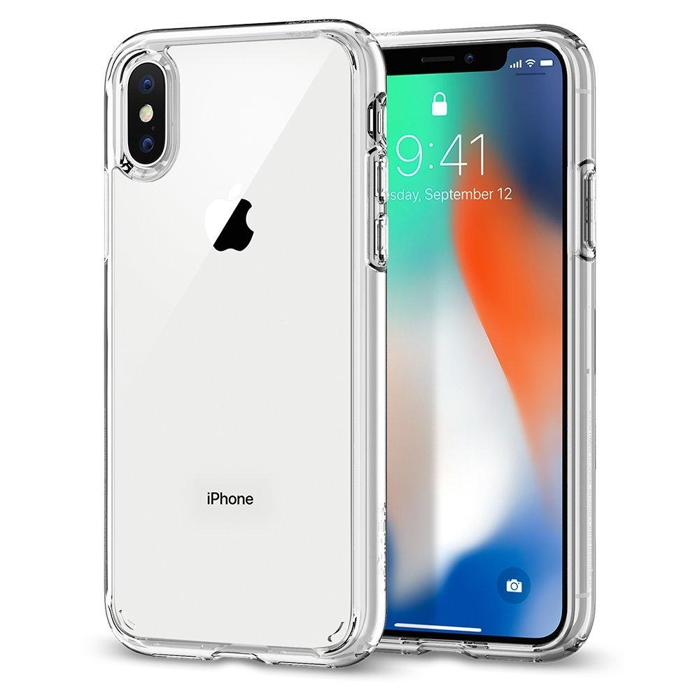 iphone x Spigen Crystal Hybrid