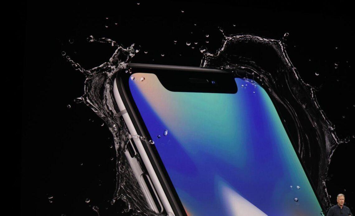 iphone x acqua