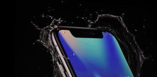 iphone x acqua