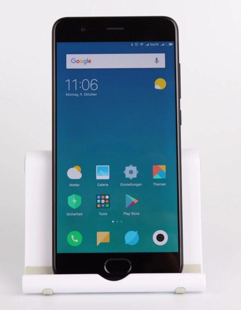 xiaomi mi note 3 - fronte e display