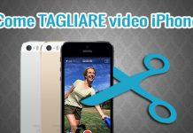 Come tagliare video su iPhone X
