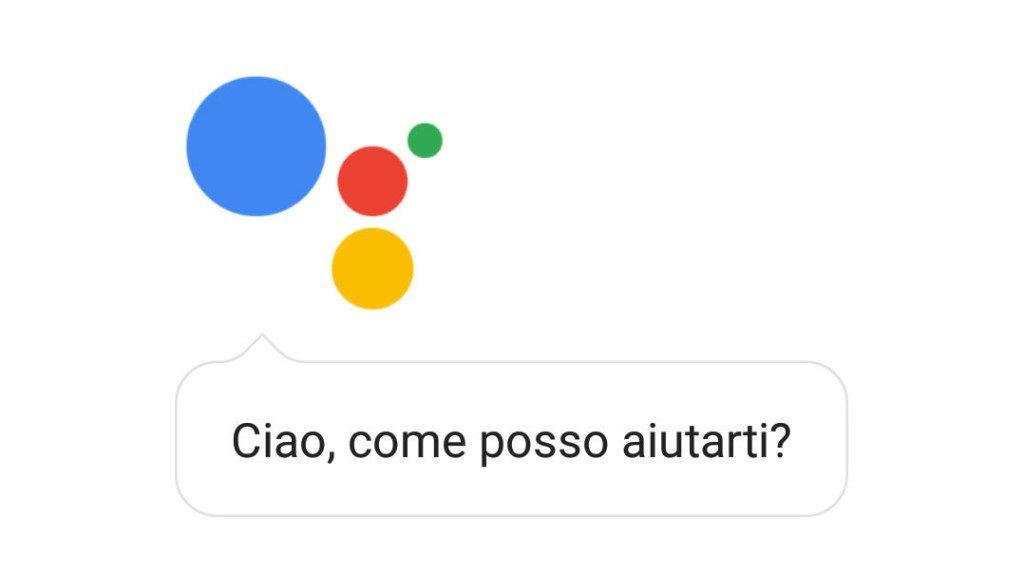 Google Assistant Italiano