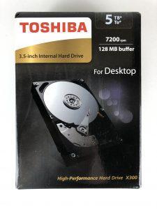 Hard Disk Toshiba X300 da 5 TB confezione