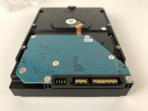 Hard Disk Toshiba X300 da 5 TB connettori