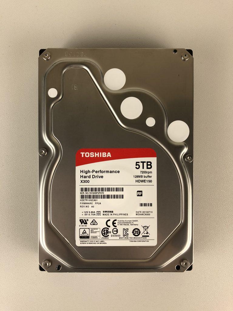 Hard Disk Toshiba X300 da 5 TB