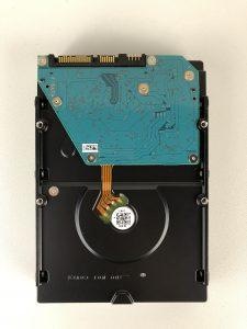 Hard Disk Toshiba X300 da 5 TB scheda