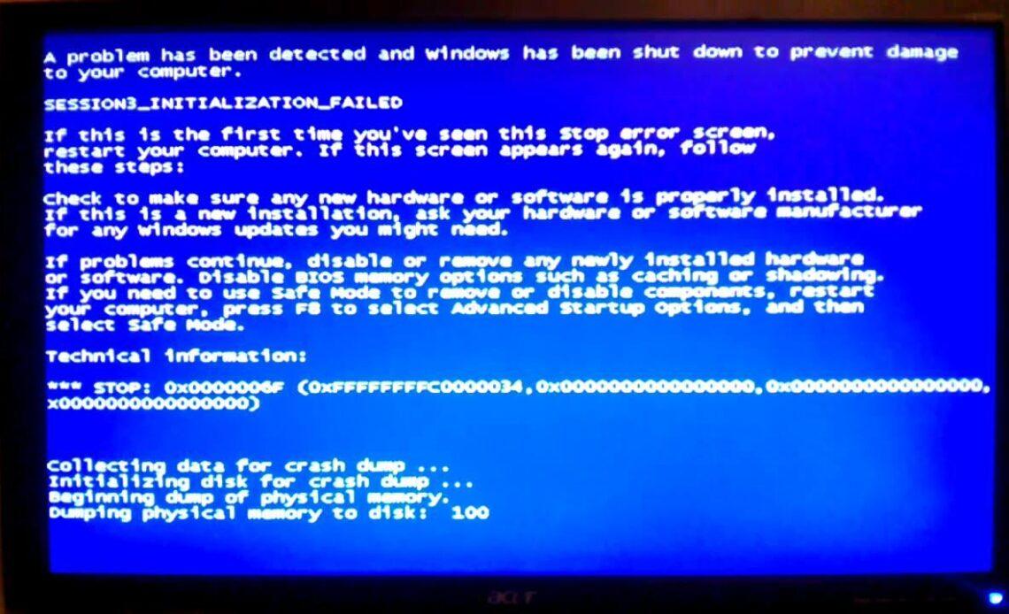 Windows non si avvia