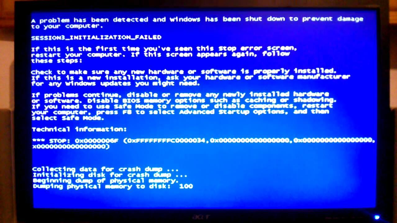 Windows не запускается