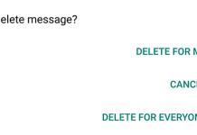 come cancellare i messaggi di whatsapp a prescindere dal limite dei 7 minuti