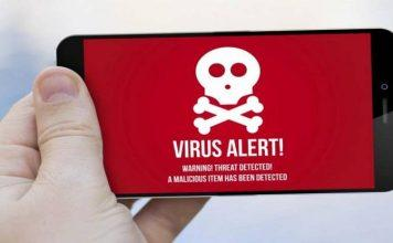 smartphone Android hackerato virus malware