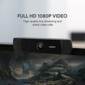 AUKEY Webcam 1080P Full HD - risoluzione