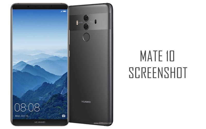 Come effettuare screenshot Huawei Mate 10