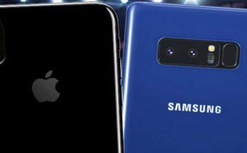 Come trasferire dati da Samsung Galaxy Note 8 a iPhone X