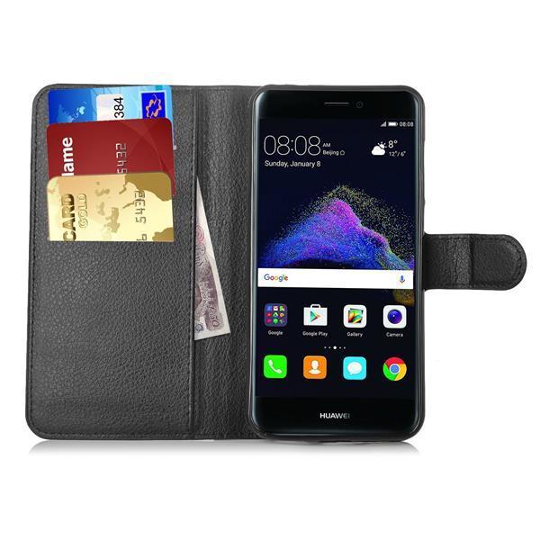 Cover per Huawei P8 Lite 2017: Custodia a portafoglio IVSO