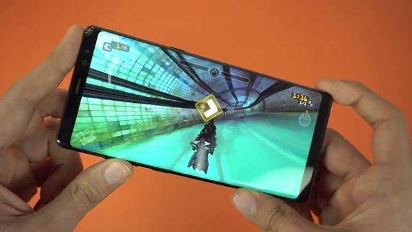 Smartphone per il gaming: Galaxy Note 8