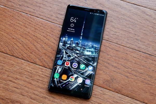 Smartphone per la sicurezza: Samsung Galaxy Note 8