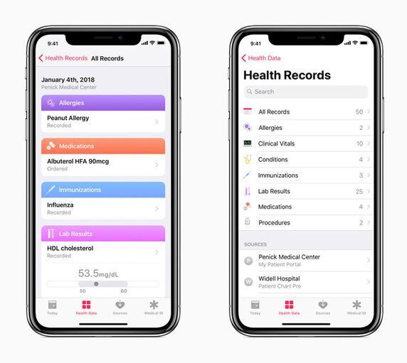 ios 11.3 - app salute