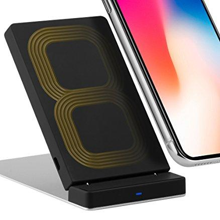 ricarica wireless iphone x e iphone 8 - bobine standard qi