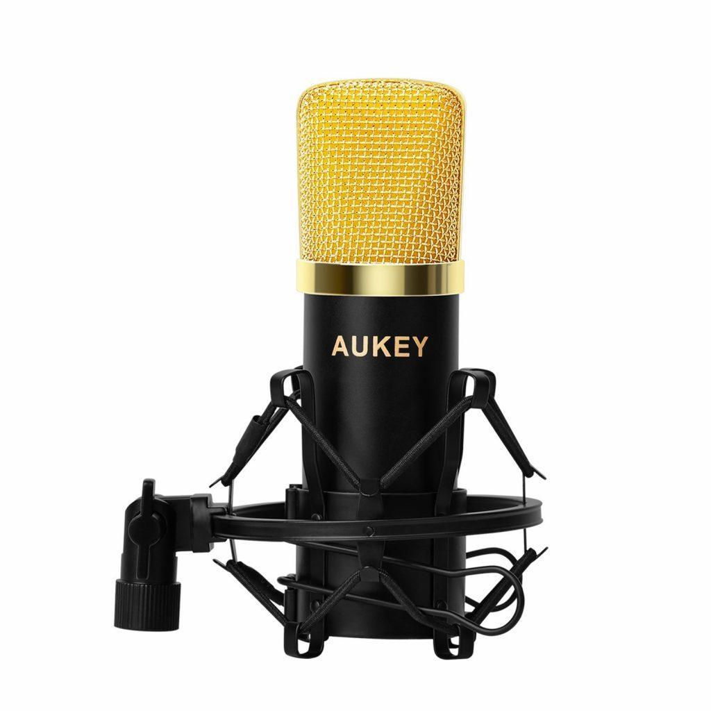 Ударопрочный конденсаторный микрофон AUKEY
