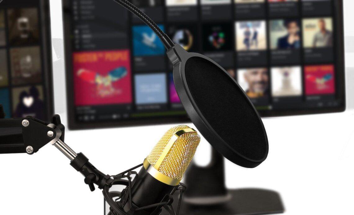 AUKEY Microfono a Condensatore copertina
