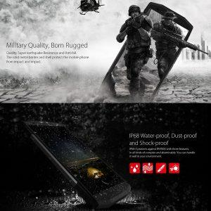 Blackview BV9000 -F - militari