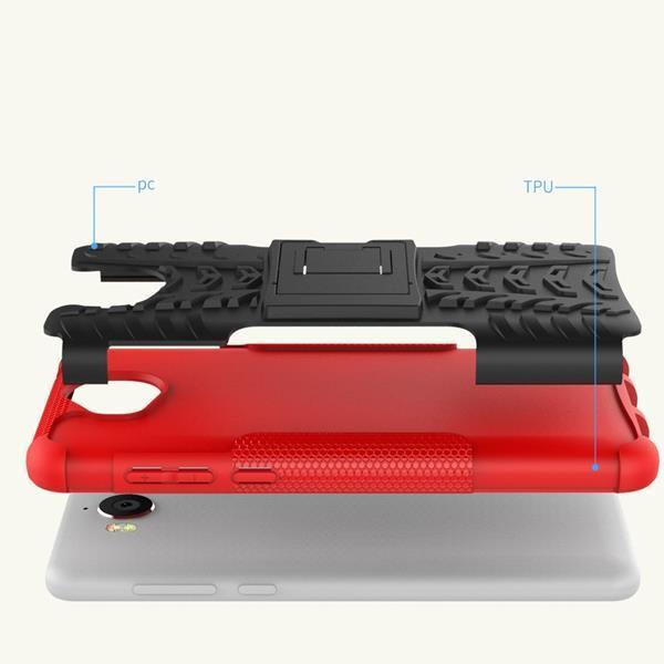 Cover per Huawei Nova Young: Cover OFU in silicone con guscio resistente