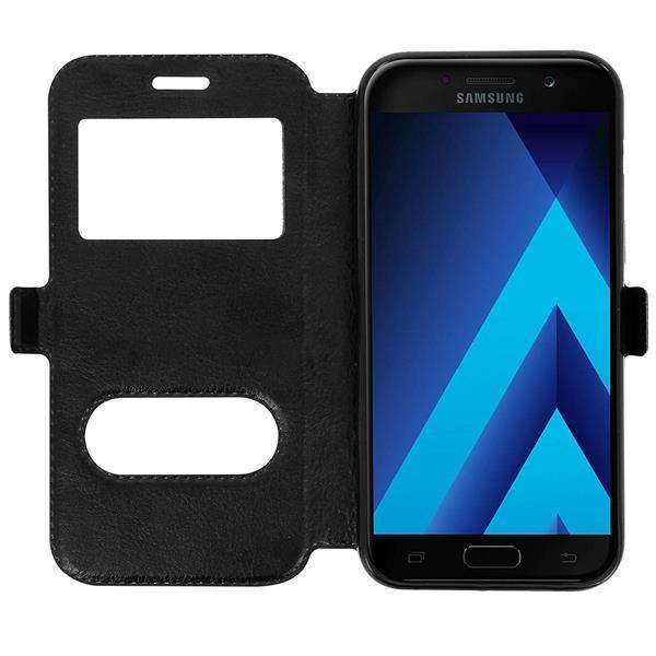 Migliori cover per Galaxy J5 2017: Cover a portafoglio con finestra CEKA TECH