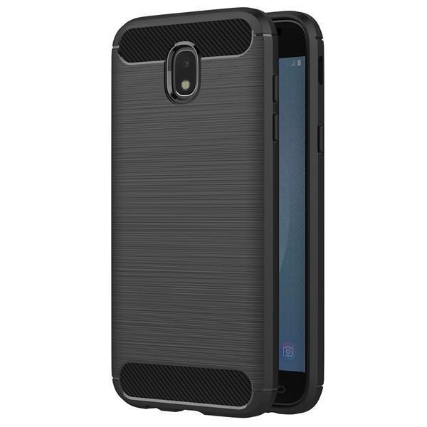 Migliori cover per Galaxy J5 2017: Cover in silicone nero AICEK