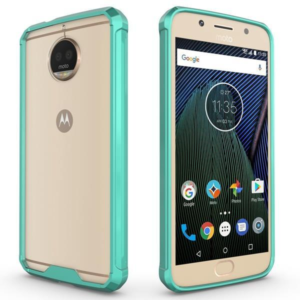 Cover per Lenovo Moto G5S Plus: Custodia HICASER Anti Slip Shock