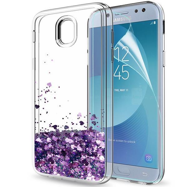 Migliori cover per Galaxy J5 2017: Custodia LeYi in silicone con glitter