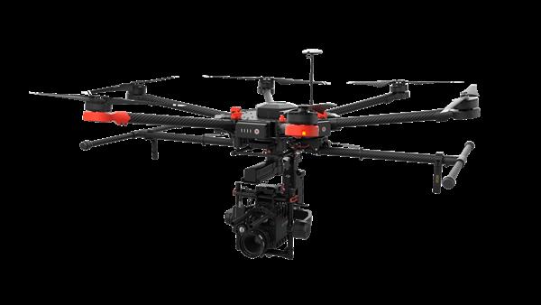 Droni per reflex: DJI Matrice 600